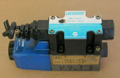 VICKERS DIRECTIONAL CONTROL VALVE DG4V-3-2A-M-P2-T-7-50, 9030, TOKYO KEIKI CO.