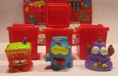 3 Pack-serie (3 Figuren * Trash Pack * Serie 4 * Müllbande * Preziosi * Neu  (w52))