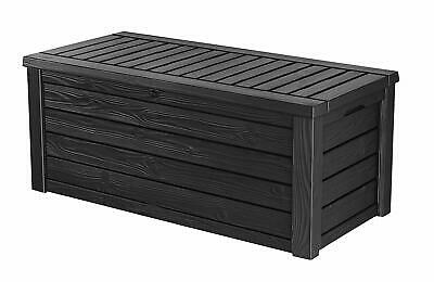 Deck Storage Boxes Outdoor Box Top Lockable Garden Best Seat All Weather