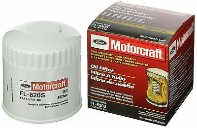 MOTORCRAFT FL820S GENUINE FORD OIL FILTER - MUSTANG 4.0L V6, 4.6L V8, F150