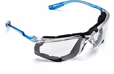 3M Virtua CCS Safety Glasses 11872-00000-20, Foam Gasket, Clear Anti Fog Lens
