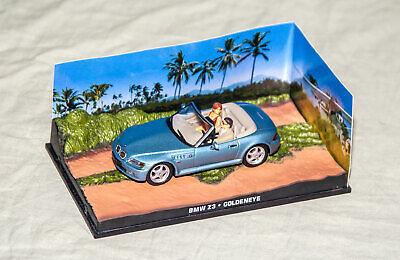 1995 BMW Z3 - Goldeneye - James Bond 007 1:43 Eaglemoss Universal Hobbies 9