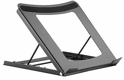 Portable Laptop/Tablet Desk Stand Fully Adjustable Angle Lightweight Non Slip