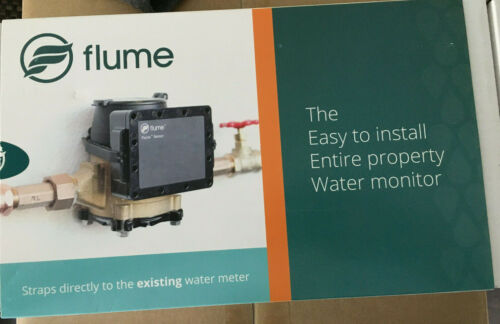 Flume Smart Home Water Monitor to Detect Leaks & Track Water Usage F1100
