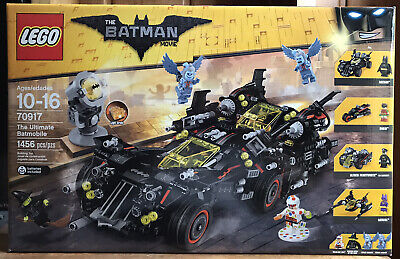 Lego Batman Movie 70917 The Ultimate Batmobile 1456 Pieces New & Sealed