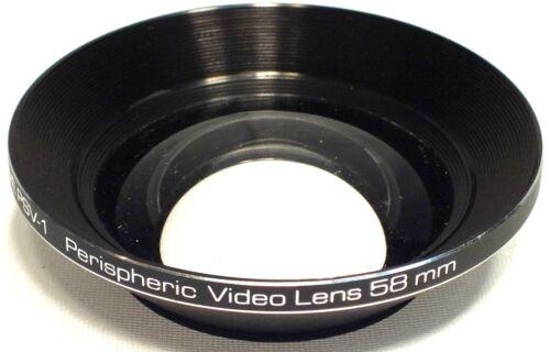 Pave  PSV-1  Super Wide  Fisheye  Macro  Perispheric Video Camera Camcorder Lens