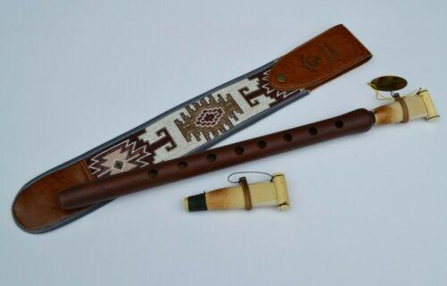 Armenian professional DUDUK with beautiful ornament case + 2 reed