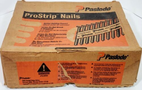 "Paslode 2-3/8"" X .113 20-Degree R-Head Prostrip Nails 2500CT 650113"