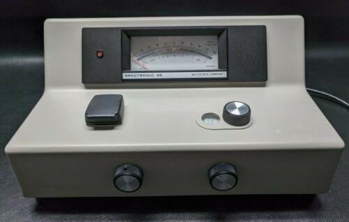 MILTON ROY Spectronic 20 Spectrophotometer P/N: 333172