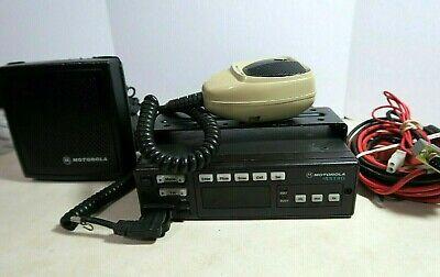 Motorola Astro Spectra W5 Vhf Mobile Radio 136-174 Mhz D04kkf9pw5an