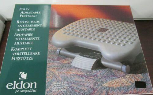 Eldon by Newell  Height Adjusting Tilting Computer desk footrest [52C]