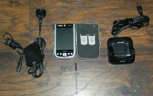 Dell Axim x51v PDA w/ Charger & Dock Tested FREE SHIPPING