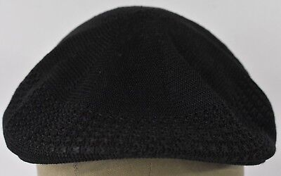Black Woven Style Cab Driver style Paper Boy Cabby Hat Cap Fitted for sale  Shipping to India