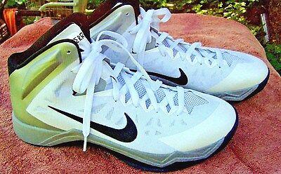 067b16c802dc NEW Nike Zoom HYPER QUICKNESS Black White Basketball Shoes Mens Sz 12