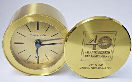 RARE 1988 LED ZEPPELIN REUNION TIFFANY CLOCK for ARTIST AT ATLANTIC RECORDS SHOW