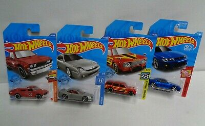 HOT-WHEELS DATSUN-HONDA-NISSAN JDM  IMPORT LOT OF 4