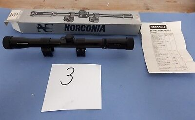 Zielfernrohr NORDCONIA RIFLE SCOPE Mod 4 x 20