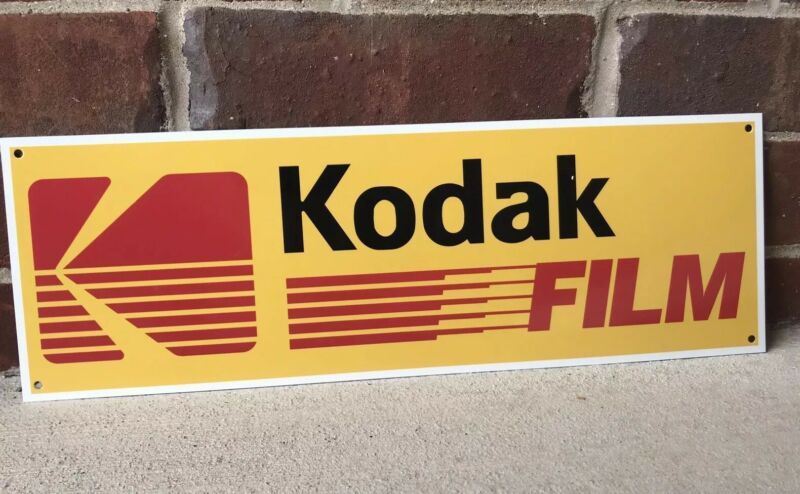 Kodak Film Photo Center Retro Reproduction Metal Sign