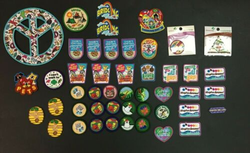 Huge Lot of 108 NEW Girl Scouts Assorted Badges Patch Collectibles