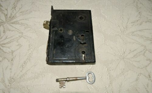 Antique Vintage Mortise Door Lock in working condition with KEY