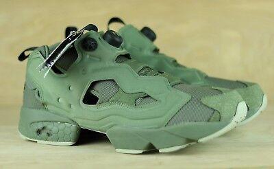 f71b46515704c Reebok Instapump Fury MTP Hunter Green BD1501 OG Sneakers Mens Suede Grey  Size