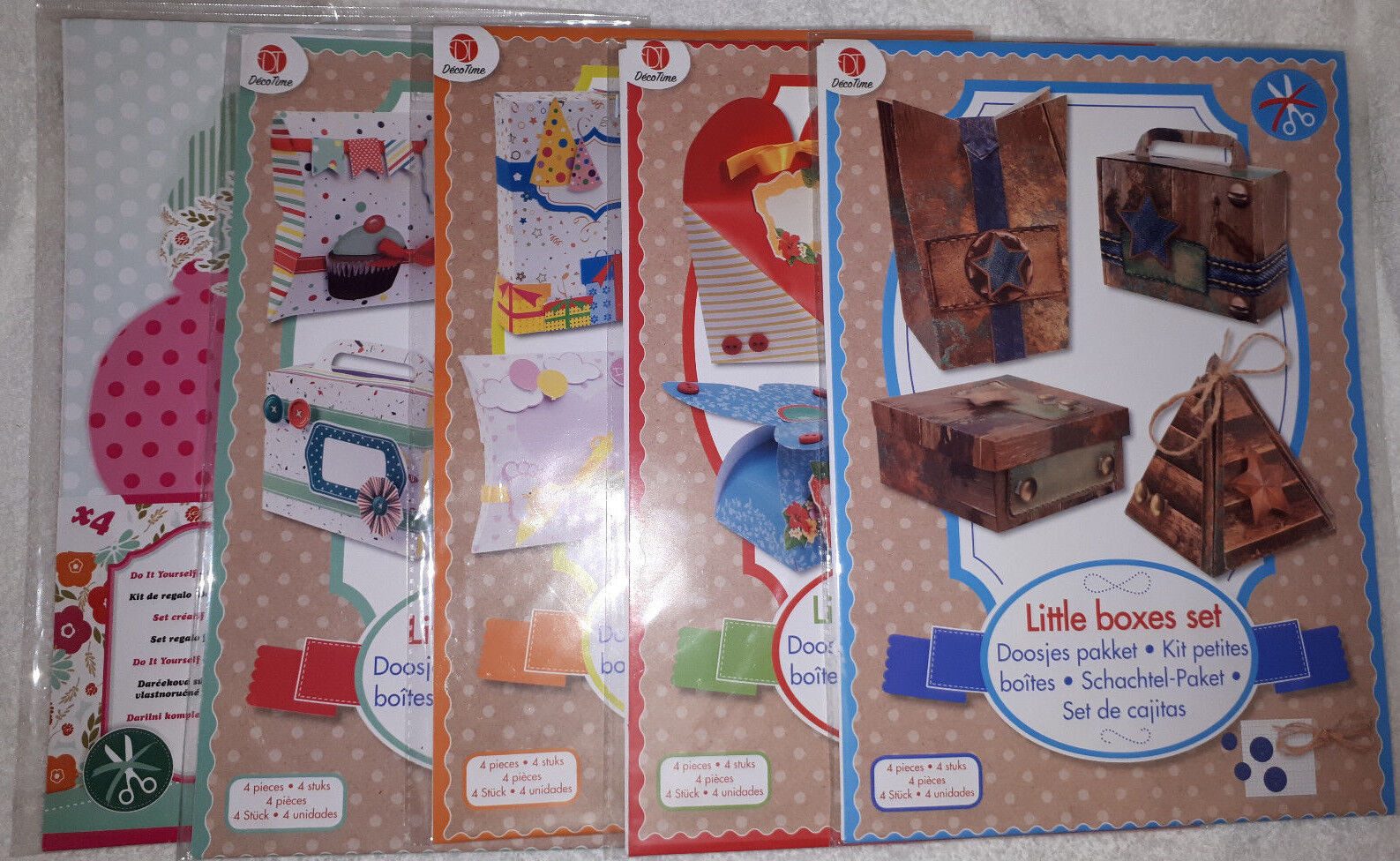 Box Geschenkschachtel Schachteln Karton Hochzeit Taufe Baby Geburtstag DIY