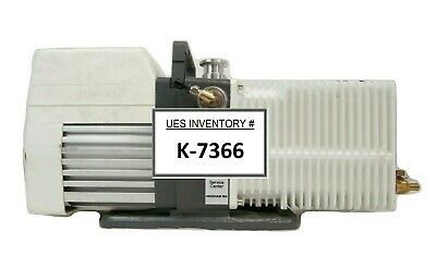Pascal 2021i Pfeiffer 221ahalzr Rotary Vane Vacuum Pump Adixen No Screws Working
