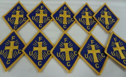 Lot Of 10 Knights Of Peter Claver Freemason African American FUCC Small Patches