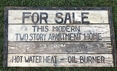 """Early Antique Orig 1930s Wood Sign Best Old Paint AAFA 47x36"""" For Sale"""