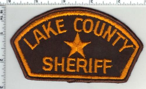Lake County Deputy Sheriff (Oregon) 1st Issue Shoulder Patch