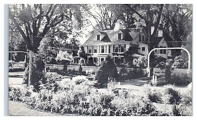 Pettibone Tavern  On College Highway  Simsbury  Ct Postcard