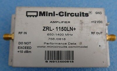 Mini-circuits Zrl-1150ln 650-1400mhz Sma Low Noise Amplifier