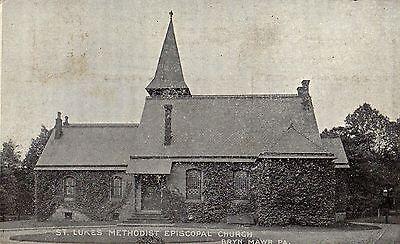St Lukes Methodist Church In Bryn Mawr Pa 1914