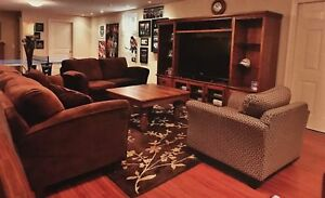 Couch, Loveseat, Chair and Carpet