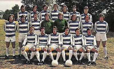 QPR FOOTBALL TEAM PHOTO 1975-76 SEASON