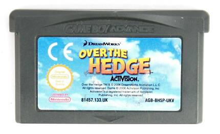 Over The Hedge for Nintendo Gameboy Advance