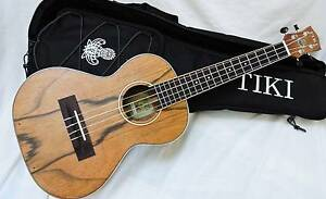 Tiki TDT-4P-NST Electric Tenor Ukulele with Gig Bag Burwood Whitehorse Area Preview