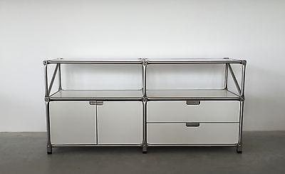 System 180 Sideboard 22889 weiß Edelstahl Breite 147 cm online kaufen