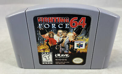 Fighting Force 64 (Nintendo 64, 1999) N64 Authentic Cartridge Only Tested