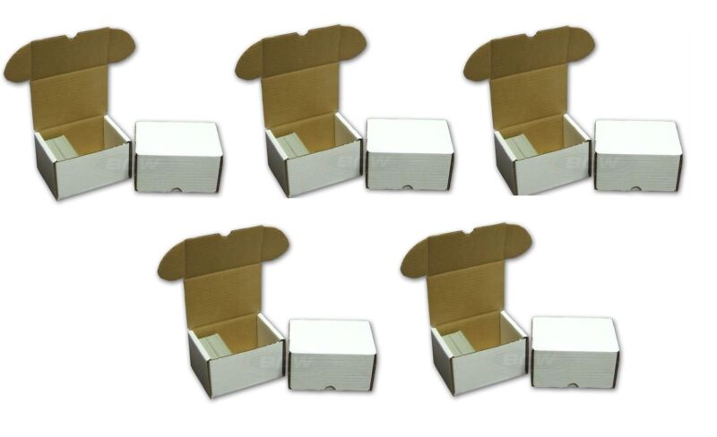 330 ct Cardboard Baseball Card Boxes ~ Bundle of 50