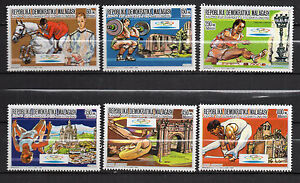 Madagascar-1987-Olympic-Games-Barcelona-92-New-MNH-complete-set