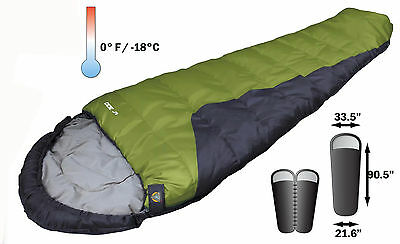 SPECIAL > 1 ALPINIZMO 0 DEGREE  MUMMY BAG NEW By HIGH PEAK $59.95 FREE SHIP