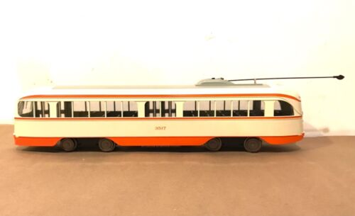 ARISTOCRAFT G SCALE ART-23325 PCC POWERED TROLLEY #3517 NO BOX