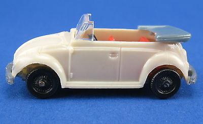 VW 1300 Käfer Cabrio - weiß -- Beetle -- Ü-Ei Auto