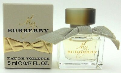 My Burberry Perfume Mini Bottle Splash Eau de Toilette 5 ml.for Women. NIB