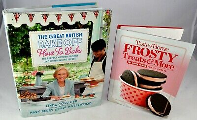LOT Great British Bake Off 2 Mary Berry Paul Hollywood FROSTY TREATS & MORE