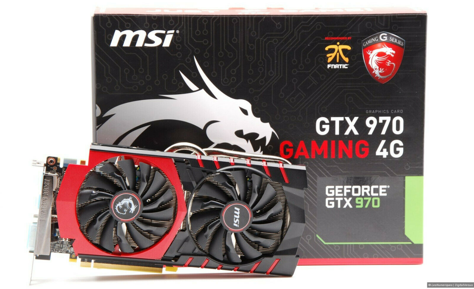 Msi nvidia geforce gtx 970 4 go ddr5 overclocked carte graphique