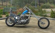 HARLEY IRONHEAD CHOPPER BOBBER Fairfield Darebin Area Preview