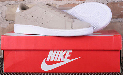 buy popular 965d4 34561 New Nike Tennis Classic CS Suede Khaki   White Leather Shoes 829351 201 -  Size 8