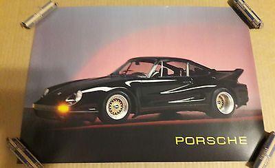 1990 PORSCHE 911 TURBO POSTER BY ARGUS 62019 RON KIMBALL